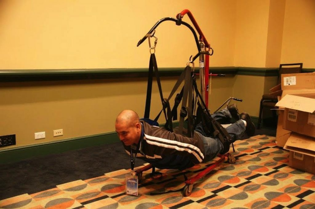 Sportsheets' harness that allows paralyzed veterans to be physically intimate. Source: sportsheets.com
